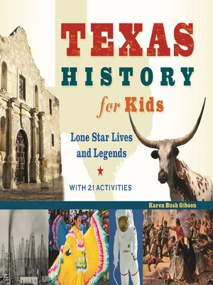 cover image of Texas History for Kids