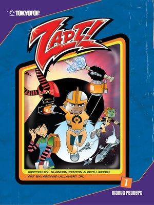 cover image of Zapt! Manga, Volume 1