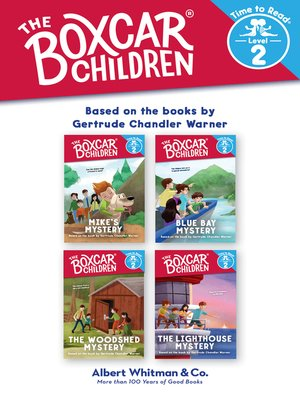 cover image of The Boxcar Children Early Reader Set, Volume 2