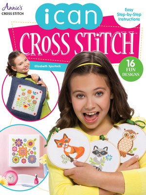 cover image of I Can Cross Stitch