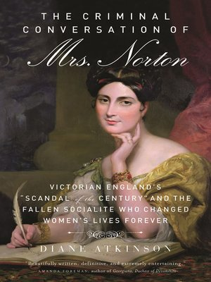 cover image of The Criminal Conversation of Mrs. Norton