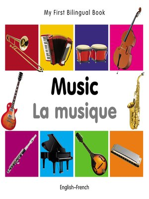 cover image of My First Bilingual Book–Music (English–French)
