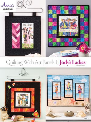 cover image of Quilting with Art Panels 1