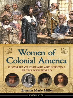 cover image of Women of Colonial America