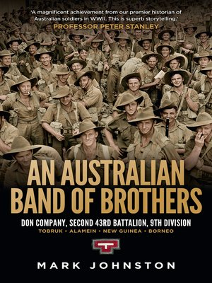 cover image of An Australian Band of Brothers