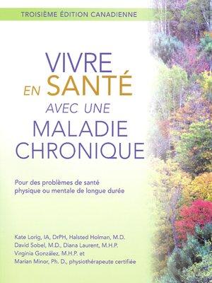cover image of Vivre en Sante avec une Maladie Chronique