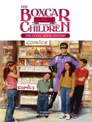 cover image of The Comic Book Mystery