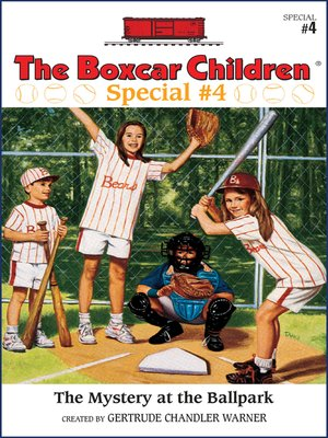 cover image of The Mystery at the Ballpark