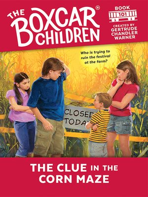 cover image of The Clue in the Corn Maze