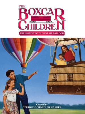 cover image of The Mystery of the Hot Air Balloon