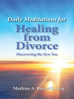 cover image of Daily Meditations for Healing from Divorce