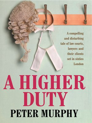 cover image of A a Higher Duty