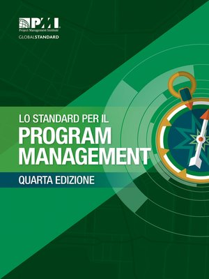 cover image of The Standard for Program Management-- (ITALIAN)