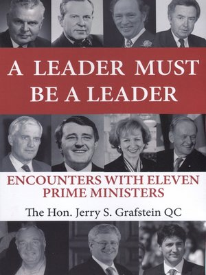 cover image of A Leader Must Be a Leader