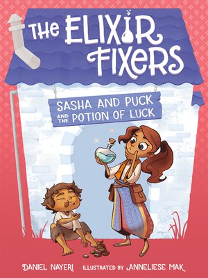 cover image of Sasha and Puck and the Potion of Luck