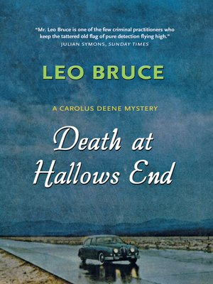 cover image of Death at Hallows End