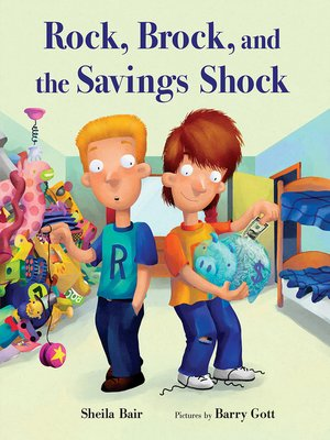 cover image of Rock, Brock, and the Savings Shock