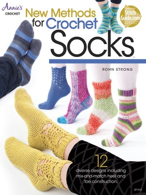 cover image of New Methods for Crochet Socks