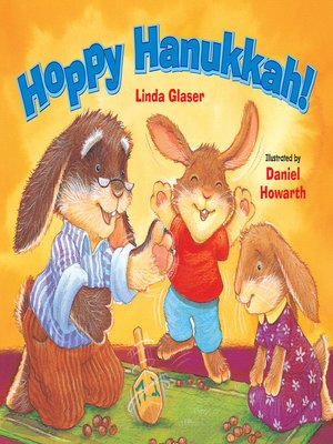 cover image of Hoppy Hanukkah!