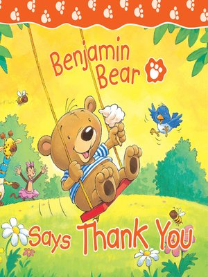 cover image of Benjamin Bear Says Thank You