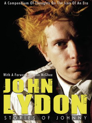 cover image of John Lydon:  Stories of Johnny