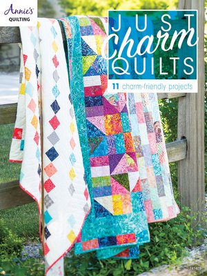 cover image of Just Charm Quilts