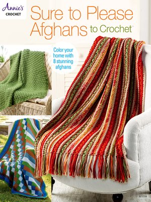 cover image of Sure to Please Afghans to Crochet