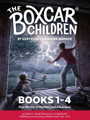 cover image of The Boxcar Children Mysteries Boxed Set, Books 1-4