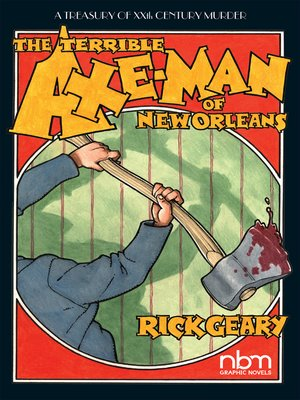 cover image of The Terrible Axe-Man of New Orleans
