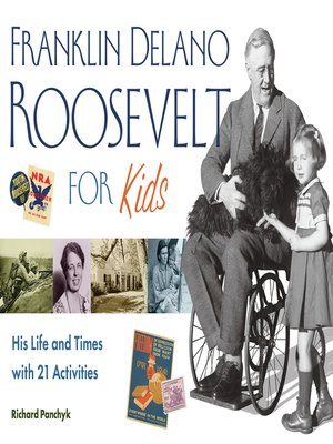 cover image of Franklin Delano Roosevelt for Kids