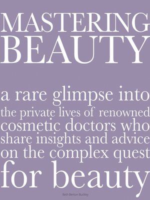 cover image of Mastering Beauty