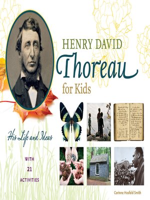 cover image of Henry David Thoreau for Kids