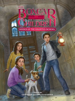 cover image of Hidden in the Haunted School