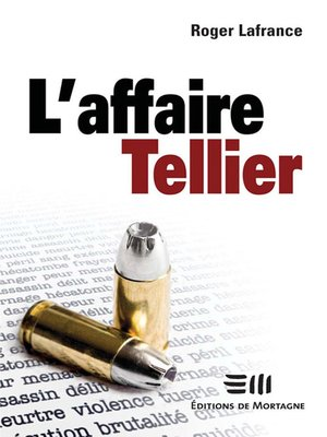 cover image of L'affaire Tellier