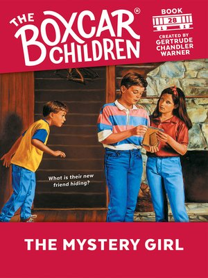 cover image of The Mystery Girl
