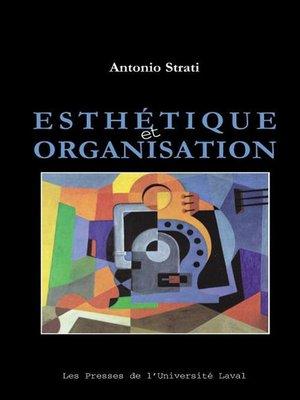 cover image of Esthétique et organisation