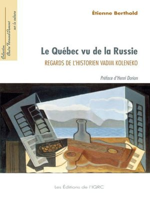 cover image of Québec vu de la Russie Le