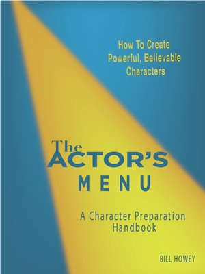 cover image of The Actor's Menu