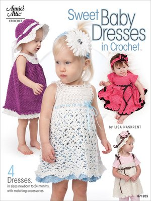 cover image of Sweet Baby Dresses in Crochet
