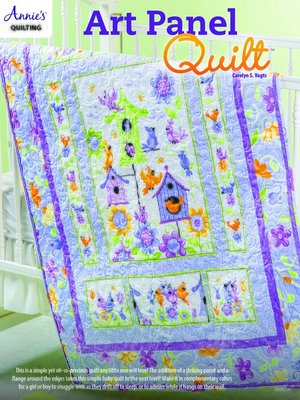 cover image of Art Panel Quilt Pattern