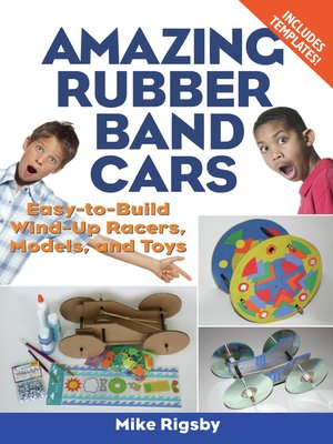 cover image of Amazing Rubber Band Cars
