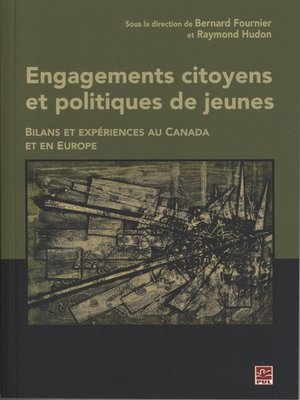 cover image of Engagements citoyens et politiques de jeunes