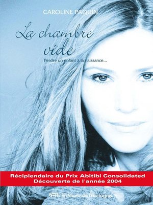 cover image of La chambre vide