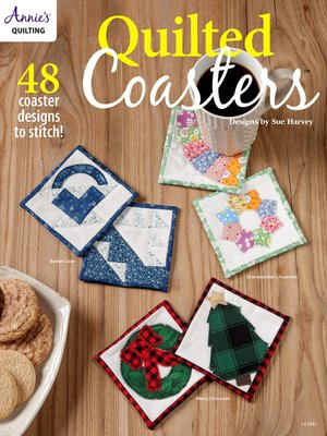 cover image of Quilted Coasters