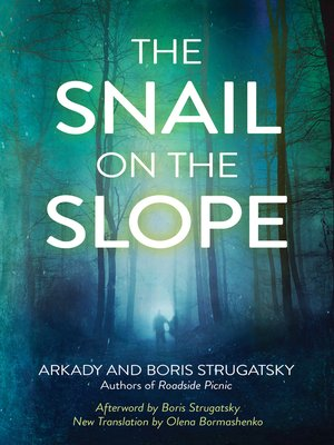 cover image of The Snail on the Slope