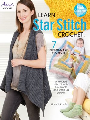 cover image of Learn Star Stitch Crochet
