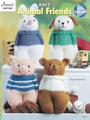 cover image of Knit Animal Friends