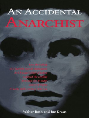 cover image of An an Accidental Anarchist