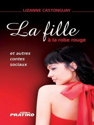 cover image of La Fille à la robe rouge La