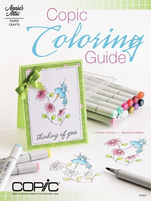 cover image of Copic Coloring Guide